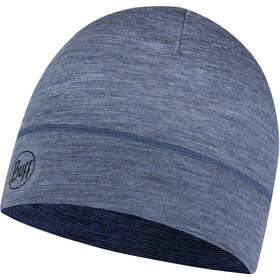Buff Lightweight Merino Wool Hat Denim Multi Stripes
